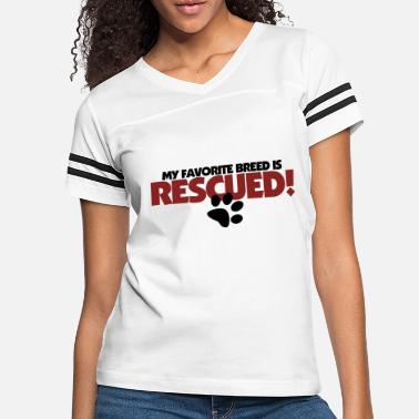 Rescue Rescued Dog - Women's Vintage Sport T-Shirt