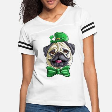 Day Pug St. Patricks Day - Women's Vintage Sport T-Shirt