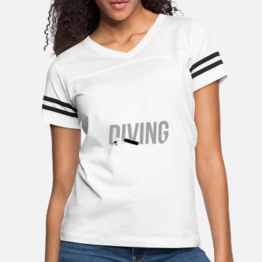 Diving Goggles Diving Snorkel Diving Sports Diving Goggles - Women's Vintage Sport T-Shirt