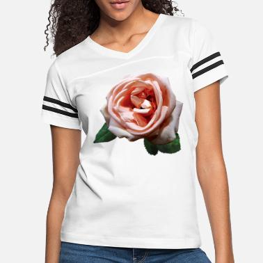 Color Delicate Peach-Colored Rose - Women's Vintage Sport T-Shirt
