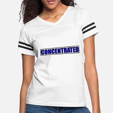 Concentration concentrated - Women's Vintage Sport T-Shirt