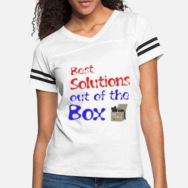 out of the Box - Women's Vintage Sport T-Shirt