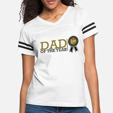 Dad Of The Year Dad Of The Year - Women's Vintage Sport T-Shirt