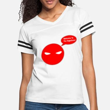 Rage Face Comic Rage Face Red - Women's Vintage Sport T-Shirt