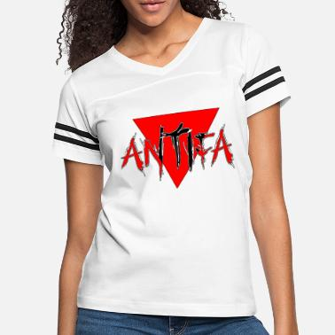 Triangle Antifa - Women's Vintage Sport T-Shirt