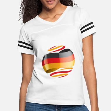 Germany Germany Flag - Women's Vintage Sport T-Shirt