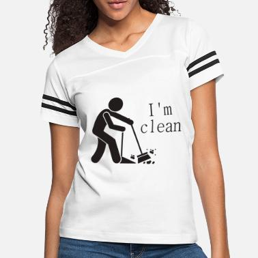 Clean What It Is I m clean - Women's Vintage Sport T-Shirt