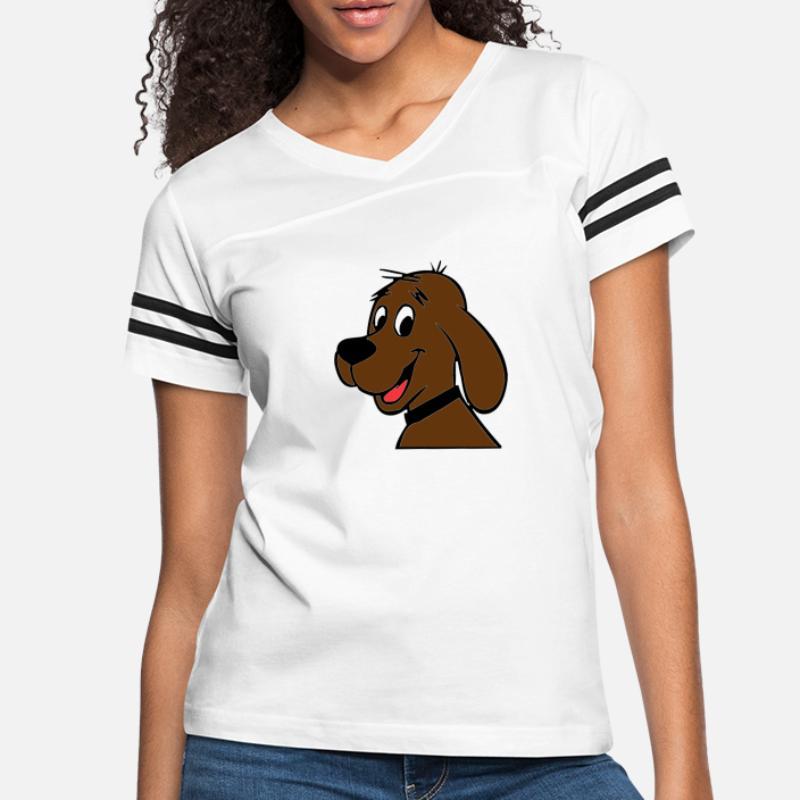 Dog Womens Short Sleeve Various Cartoon Dog Design Tees Short Sleeve Tshirts Girls Gift Tops