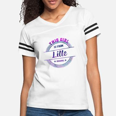 Tourist Lille France - Women's Vintage Sport T-Shirt