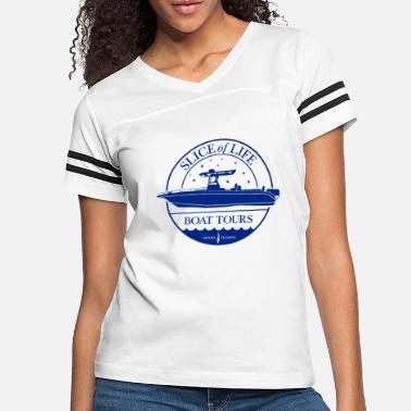 Dexter Slice of Life Boat Tours - Women's Vintage Sport T-Shirt