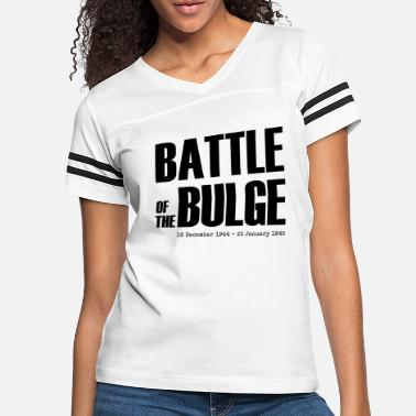 Bulge Battle of the Bulge (Black) - Women's Vintage Sport T-Shirt