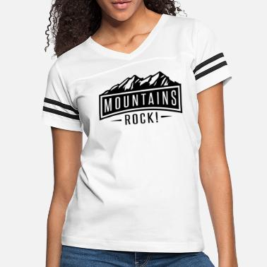 Hike Mountains Rock - Women's Vintage Sport T-Shirt