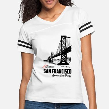 Gate San Francisco Golden Gate Bridge California - Women's Vintage Sport T-Shirt