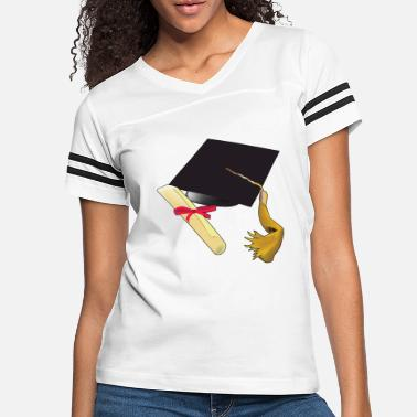 High School Graduate Graduation school kindergarten high school - Women's Vintage Sport T-Shirt