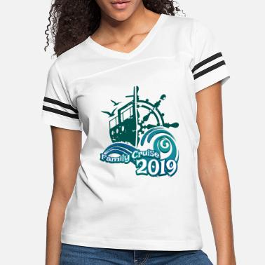 2019 Family Cruise Vacation Family Reunion 19 - Women's Vintage Sport T-Shirt