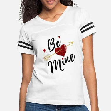 Valentine's Day Be Mine forever Valentines day couple love heart - Women's Vintage Sport T-Shirt