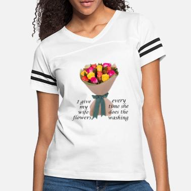 flowers and washing - Women's Vintage Sport T-Shirt
