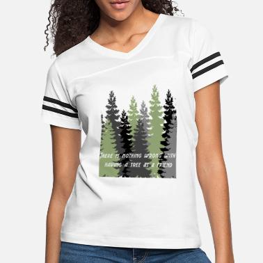 Forest Happy Little Trees T-Shirts & Gifts Bob Style - Women's Vintage Sport T-Shirt
