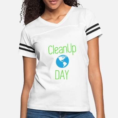 CLEAN UP DAY RECYCLE ENVIREMENT - Women's Vintage Sport T-Shirt