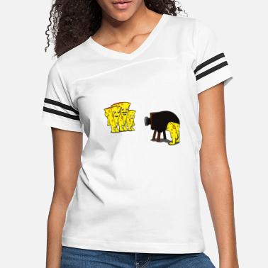 Shop Cheese Draw T-Shirts online | Spreadshirt