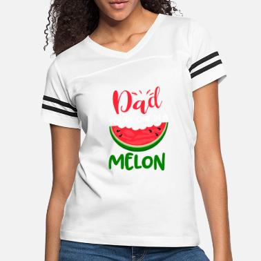Melon Dad You_re One In A Melon Cute Summer Watermelon T - Women's Vintage Sport T-Shirt