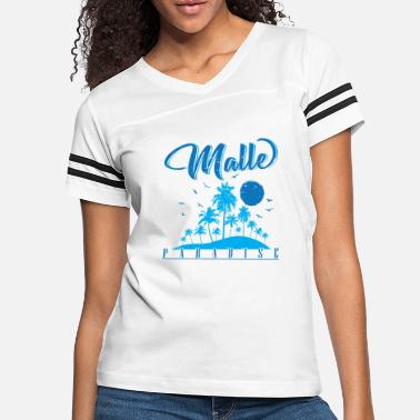 Spain Malle Paradise Holiday Island - Women's Vintage Sport T-Shirt