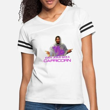 EVEN JESUS WAS A CAPRICORN - Women's Vintage Sport T-Shirt