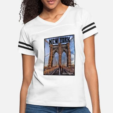 Brooklyn Bridge New York Brooklyn Bridge - Women's Vintage Sport T-Shirt