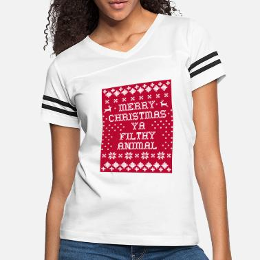 ugly merry christmas - Women's Vintage Sport T-Shirt