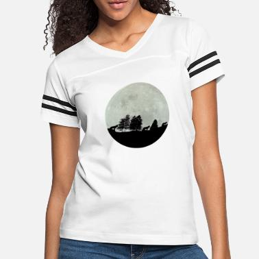 wolf of the moon - Women's Vintage Sport T-Shirt