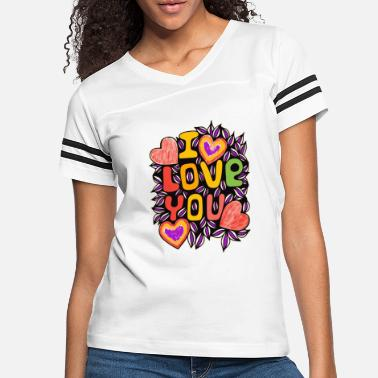 Pretty Boy Rolling Cool with love | I Love Yourolling_coollov - Women's Vintage Sport T-Shirt