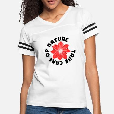 take care of nature - Women's Vintage Sport T-Shirt