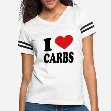 Carbs I Love Carbs - Women's Vintage Sport T-Shirt