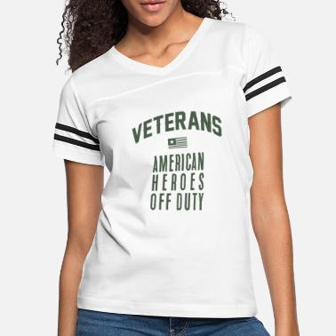 Support Our Troops Veteran T-shirt. Veterans Day tshirt - Women's Vintage Sport T-Shirt