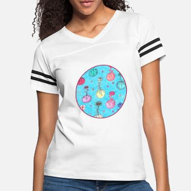 Bloom Flower Orbs - Women's Vintage Sport T-Shirt