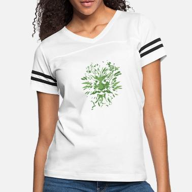 Celtic Celtic Symbols Green Man Gift Idea - Women's Vintage Sport T-Shirt