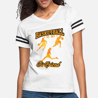 c5377c0d009 Proud Girlfriend Of A Basketball Player Basketball is my new girlfriend -  Women  39 . Women s Vintage Sport T-Shirt