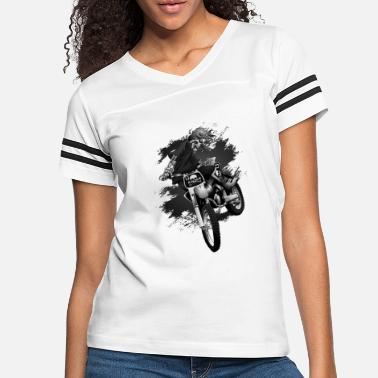 dirt biker back png - Women's Vintage Sport T-Shirt