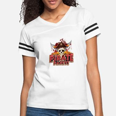 Pirate Party pirate party sketch - Women's Vintage Sport T-Shirt