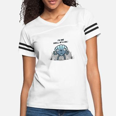 Gal A Shell of a Gal - Women's Vintage Sport T-Shirt