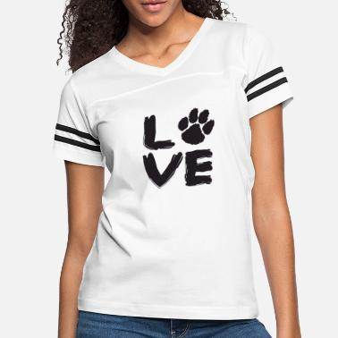 Dog Love Dog - Women's Vintage Sport T-Shirt
