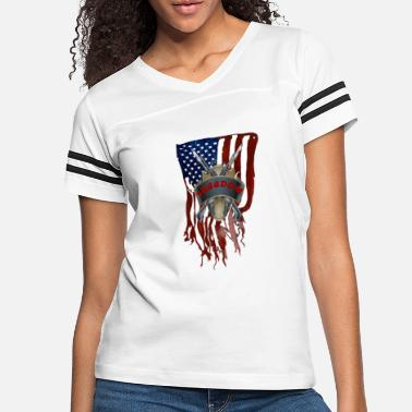 Guarding Freedom - Women's Vintage Sport T-Shirt
