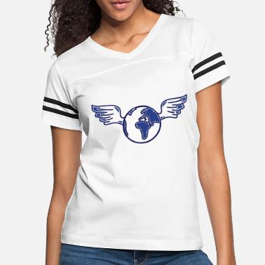 Injustice earth with wings - Women's Vintage Sport T-Shirt