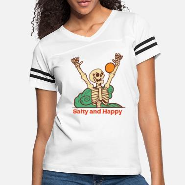 9gag salty and happy - Women's Vintage Sport T-Shirt