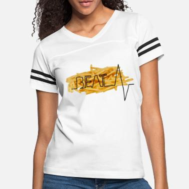 Composition Beat Typography - Women's Vintage Sport T-Shirt