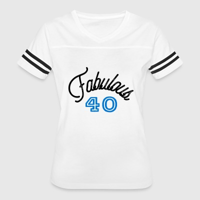 Fabulous 40 Forty - Women's Vintage Sport T-Shirt