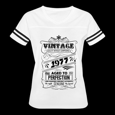 Vintage Aged To Perfection 1977 - Women's Vintage Sport T-Shirt