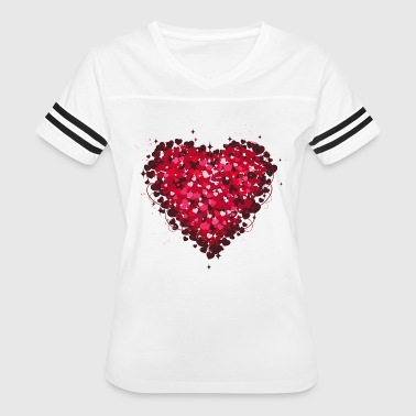 Heart - Women's Vintage Sport T-Shirt