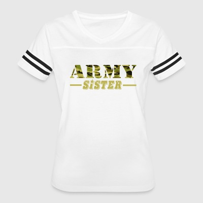 Army Sister - Proud Army Sister T-Shirt - Women's Vintage Sport T-Shirt