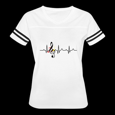 Music Teacher Tee Shirt - Women's Vintage Sport T-Shirt